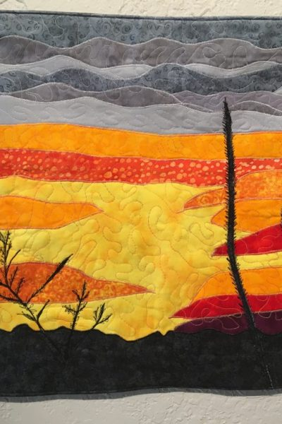 """""""Sunset Golden Valley"""" by Ruby Hoffman"""