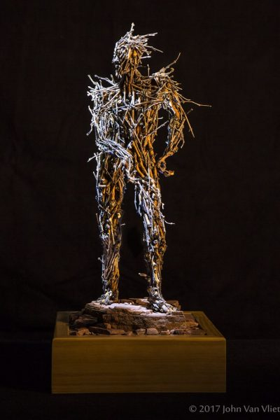 """""""Stickman #3"""" by John VanVliet"""