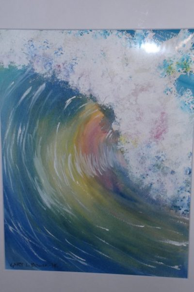 """Colorful Wave"" by Gary Bower"