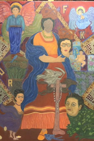 """The Self-Effacement of Frida Khalo"" by Eliza Hilton"