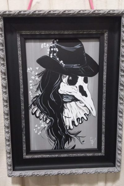 """Old Crow"" by Dulcy Warfield"