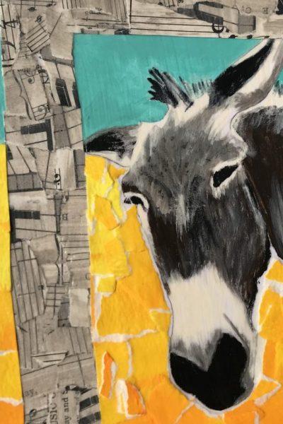 """""""Truxton, the Donkey"""" by Sarah Givens"""