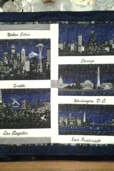 """Urban Cities"" by Sally Bradley"